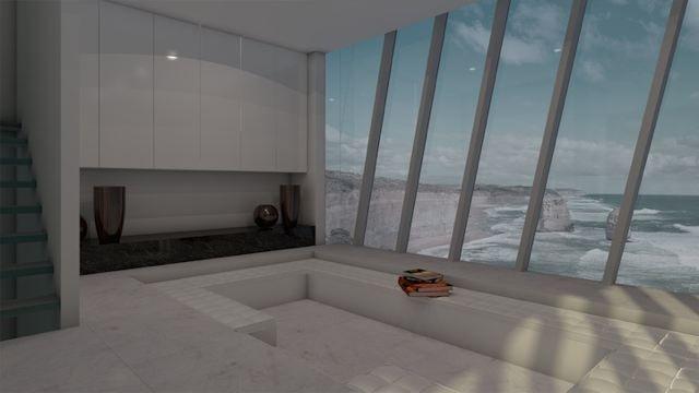 Siamo in Australia ed è qui che lo Studio di architettura e design MODSCAPE, lancia il progetto di una casa che non si siede sulla scogliera, bensì si aggrappa ad essa. GUARDA TUTTE LE ALTRE FOTO SU http://dblog.dabirstore.com/case-da-sogno-la-casa-aggrappata-alla-scogliera-a-picco-sulloceano/