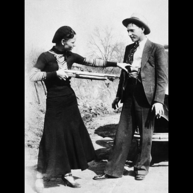 Uno para el otro: Bonnie & Clyde