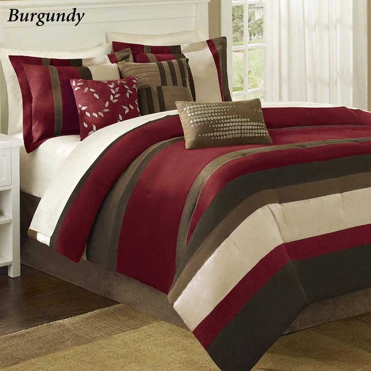 28 best images about cranberry color bedroom on pinterest for Bedroom accessories sets