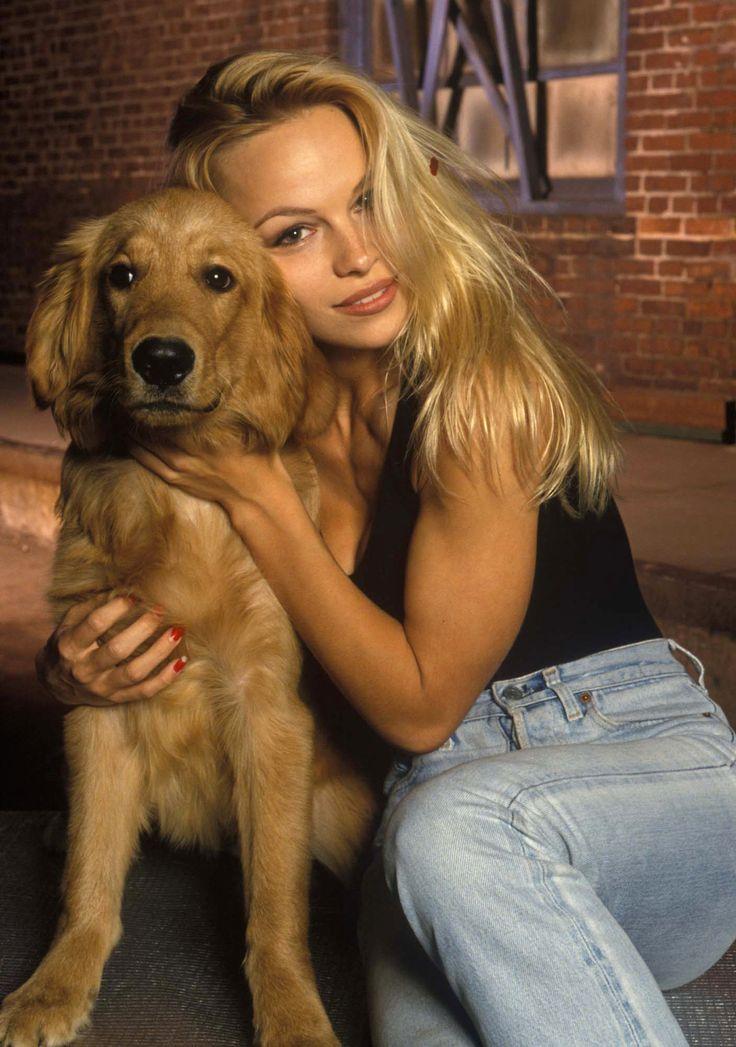 Pamela By Michael Paris 1993 Pamela Anderson Dogs