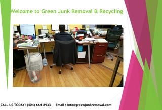 Warehouse Furniture And Trash Removal Service  Are you dealing with the stuff on your property that is no longer of your professional use? Well this trash not only makes the property look unattractive, but also makes the environment unhealthy for the people working there at the same time. While running a business can be a tough task, it can be even difficult for you to deal with the trash at your workplace.  http://greenjunkremoval.com/