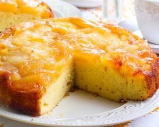 Gâteau aux amandes renversé aux pommes et au miel : http://www.fourchette-et-bikini.fr/recettes/recettes-minceur/gateau-aux-amandes-renverse-aux-pommes-et-au-miel.html