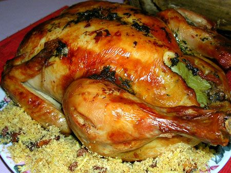 Receitinha do jeito que você gosta, delícia e rapidinha!! - Aprenda a preparar essa maravilhosa receita de Frango Assado na Panela de Pressão