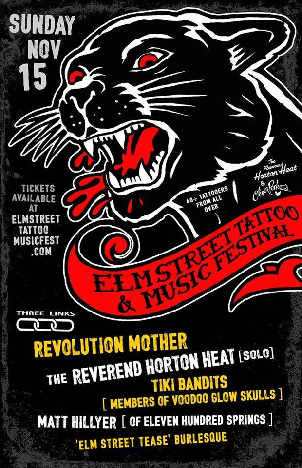 Elm Street Tattoo Music Festival beings this weekend at the Bomb Factory!