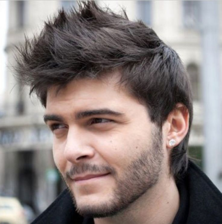 Men Short Hairstyles mozambeak_and slicked back taper fade Short Hairstyles For Men With Thick Hair