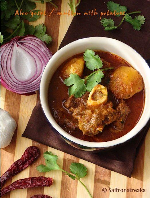 Potato and mutton stew recipe