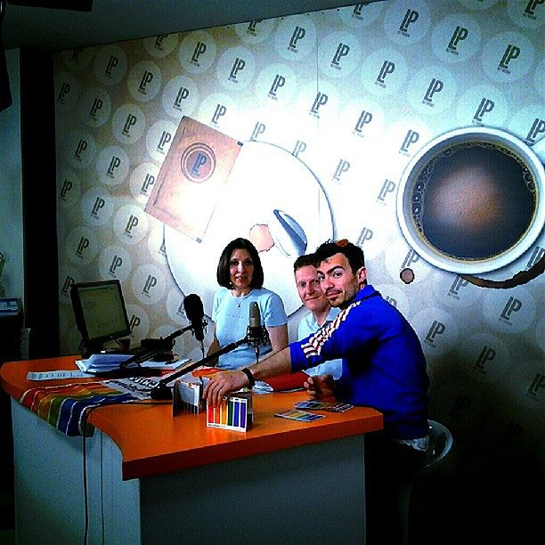 Mattia Stella e Sergio Meggiolan a Caffè Espresso per il Vicenza Pride Festival #TeatroAstra #VicenzaPride2013