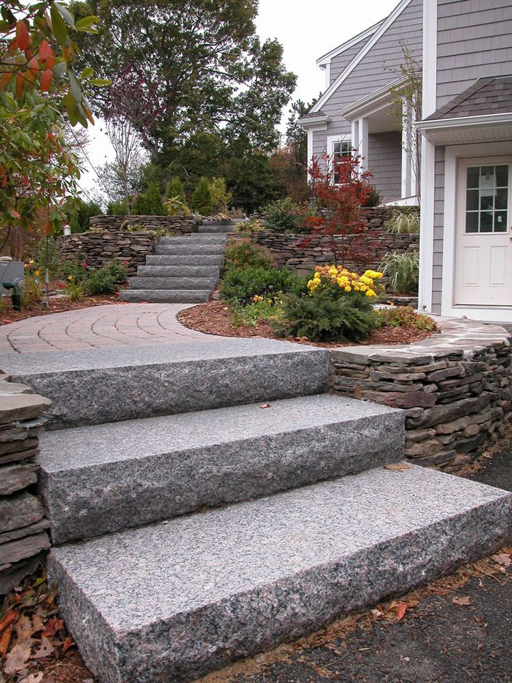 Best Granite Stair Treads Steps Cape Cod Nantucket Ma Ri 640 x 480
