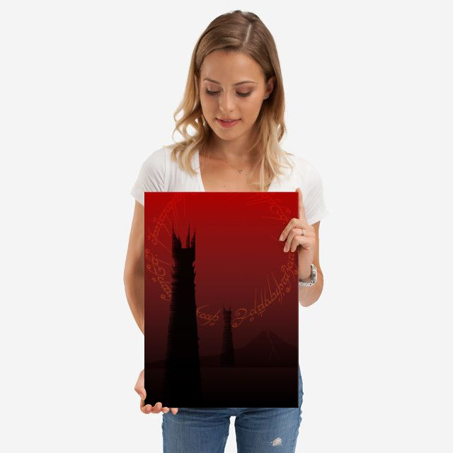 26% OFF all products this weekend  Use code: SPRING26 . Fantasy Movie Poster  by Scar Design | Displate. #movies #movie #cinema #fantasy #books #bookworm #booklovers #dark #towers #red #ring #art #artist #design #modern  #sale #sales #discount #posters #gifts #giftideas #homegifts #39 #wallart #livingroom #decoration #home #homedecor #cool #awesome #giftsforhim #giftsforher #displate #fandom