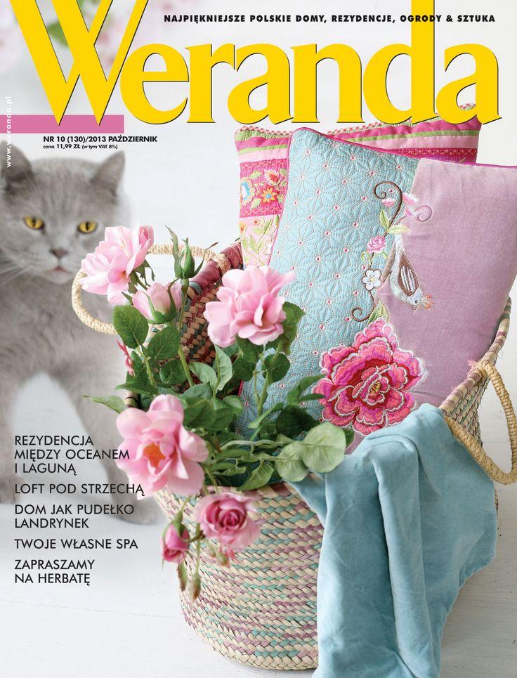 Okładka magazynu Weranda 10/2013 www.weranda.pl