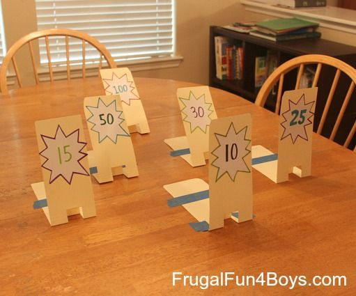 20 Awesome Nerf Games to Make and Play - Frugal Fun For Boys