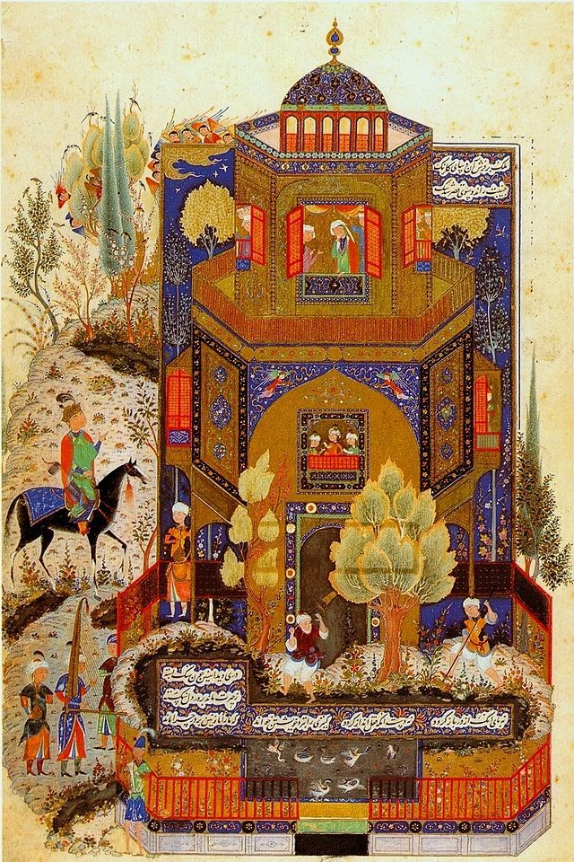 Morrocan traveler, Ibn Battuta, made a brief visit to the Persian-Mongol city of Tabriz in 1327.
