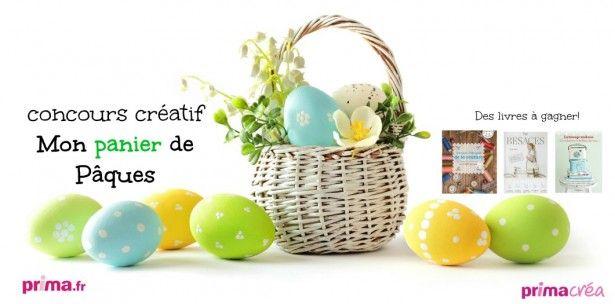 Concours créatif Mon panier de Pâques