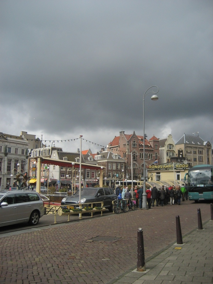 View of Rokin, Amsterdam city centre