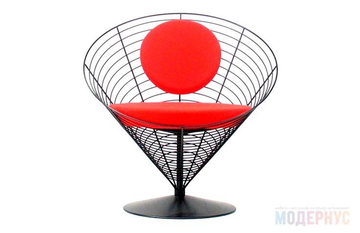 кресло для дома Panton Wire Cone дизайн Verner Panton фото 2