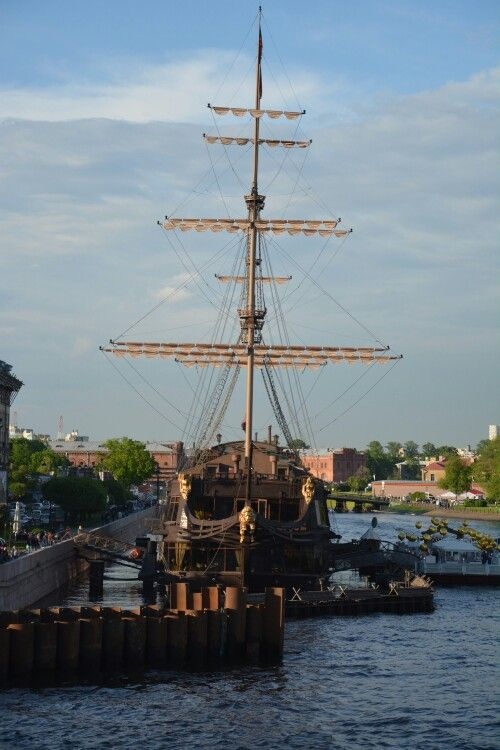 Historical ship-restaurant