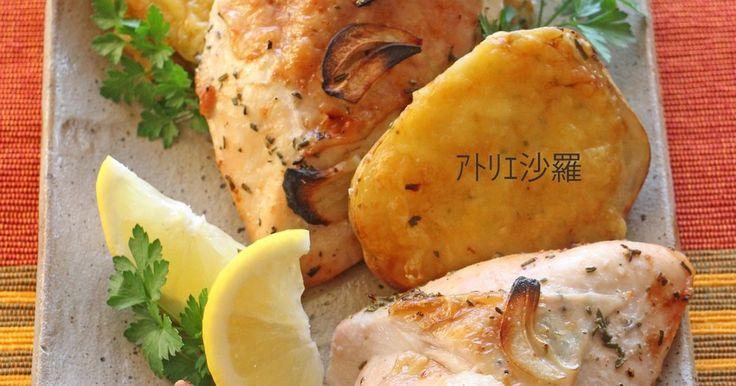 ハーブレモン✿鶏胸肉deローストチキン✿ by アトリエ沙羅 【クックパッド】 簡単おいしいみんなのレシピが281万品