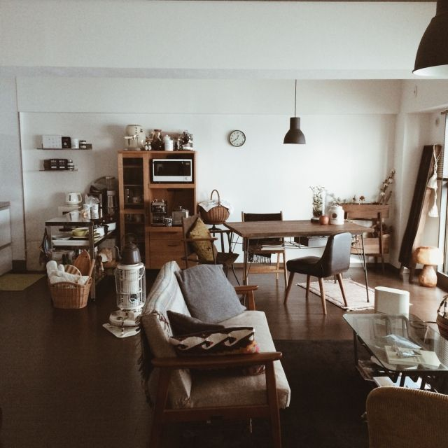yuiさんの、Overview,IKEA,ソファ,カリモク60,賃貸,男前についての部屋写真