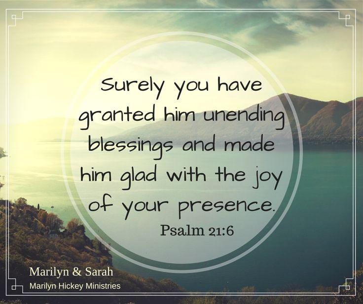 Psalm 21:6