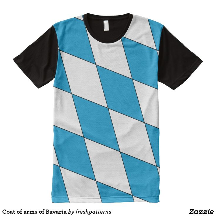 Coat of arms of Bavaria All Over Print Shirt