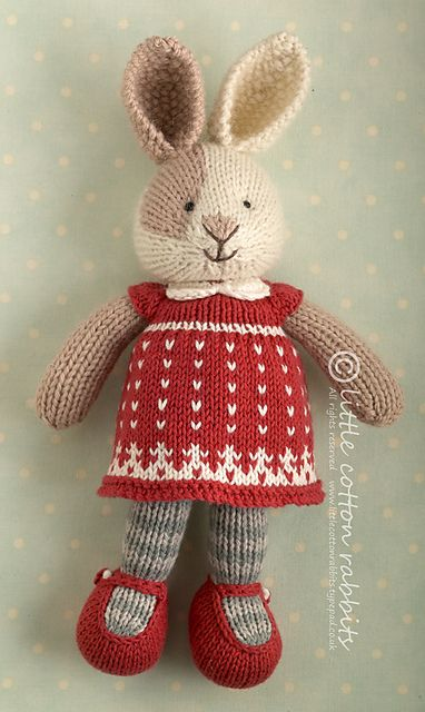 Ravelry: Seasonal dresses supplement, Christmas pattern by little cotton rabbits, Julie Williams