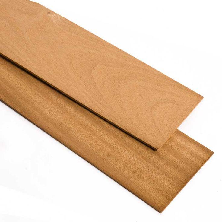 MADERA DE SAPELLY - El Sapelly es una madera muy apreciada por su aspecto atractivo, durabilidad y resistencia. Perfecta para maquetas de barcos e instrumentos musicales.