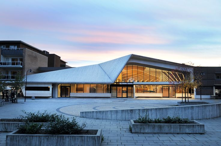 Vennesla Library and Culture house by Helen & Hard  #architecture #library #books