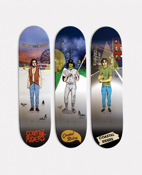 "Coastal Riders ""The Warriors"" Shop Decks"