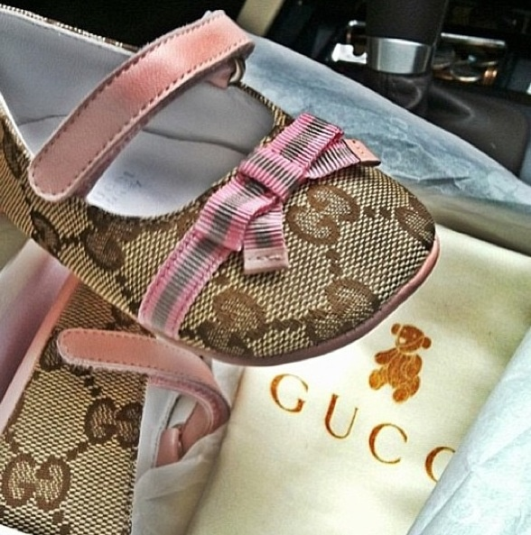 """Baby Gucci shoes Fashion for a """"baby girl"""""""