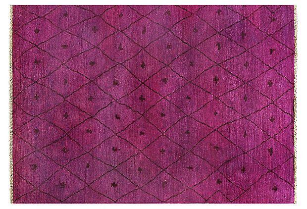 "6'2""x9' Melanie Rug, Magenta on OneKingsLane.com.  Looks like dyed onion cells."
