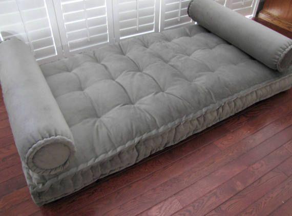 gray bolster pillow velvet neckroll