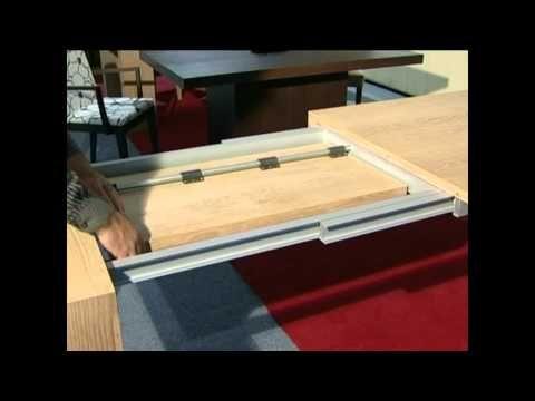 Mesas extensibles de madera de la máxima calidad. Realizamos mesas a medida en distintos acabados. Muebles Artenogal en Sonseca (Toledo).