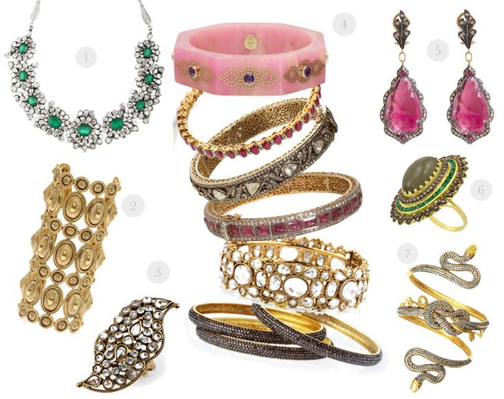 indian inspired jewels