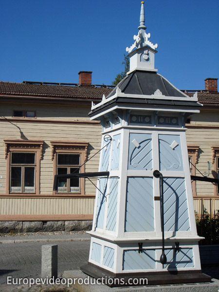Vieille ville de Rauma en Finlande – site patrimoine mondial de l'humanité de l'UNESCO
