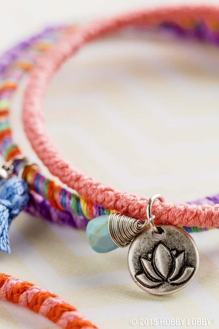 This diy jewelry is so fun and easy to make just wrap