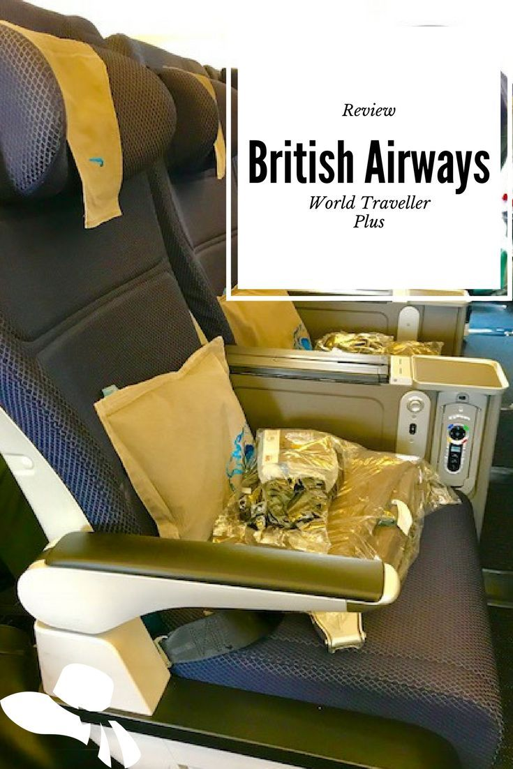 My review of British Airways World Traveller Plus – The Boutique Adventurer Considering flying British Airways World Traveller Plus or premium economy? Make sure you read my review first – especially the bit where they tried to downgrade rather than upgrade me! #britishairways #premiumeconomy #airlinereviews #britishairwaysworldtravellerplus