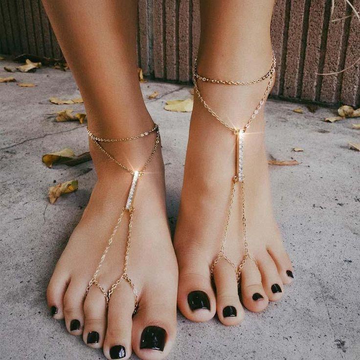 24 best barefoot sandals anklet images on pinterest anklet ankle bracelets and shape patterns. Black Bedroom Furniture Sets. Home Design Ideas