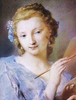 Rosalba Carriera 1675-1757 ~  Iridescent Summer