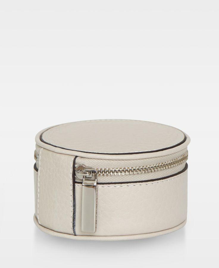 DECADENT Harper Jewellery box, Bone