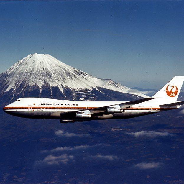 #Boeing747 #Airplane #MountFuji #Japan #JAL #