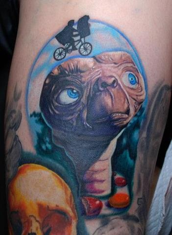 Et tattoo tattoo done by alex rios hard knox tattoos yonkers ny rate of pictures of tattoos submit your own tattoo picture or just rate others