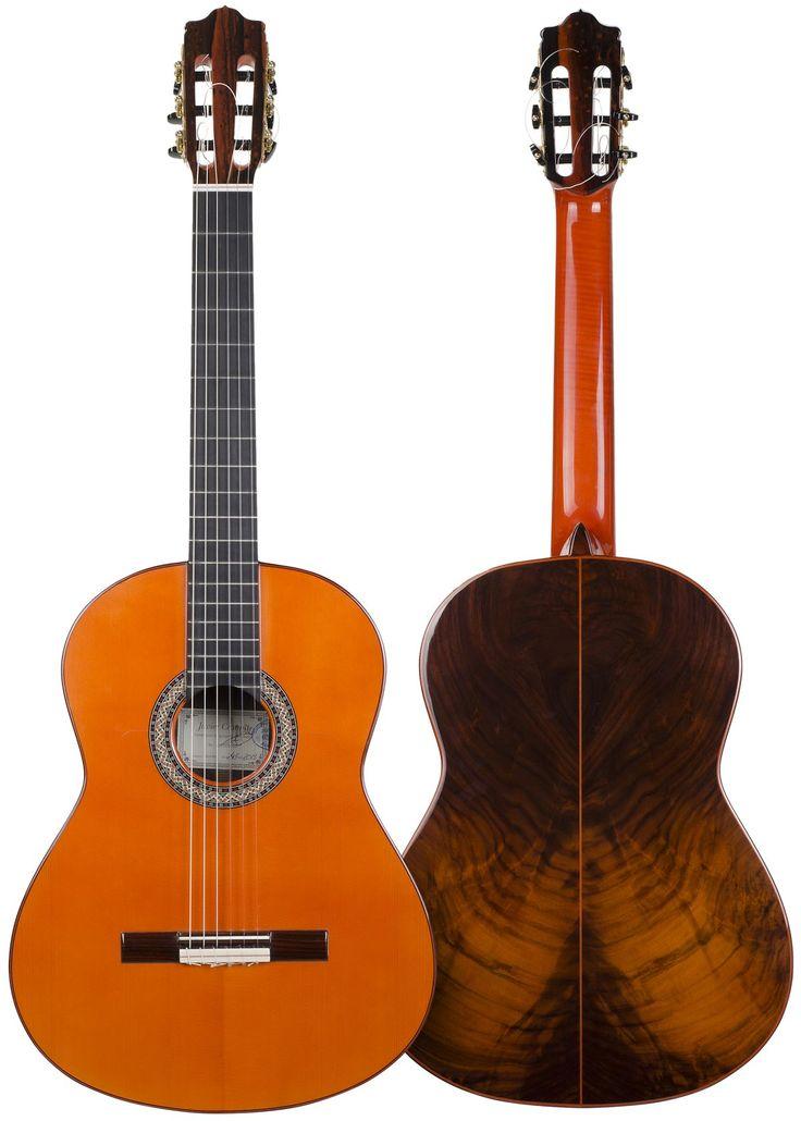 #Flamenco #Guitar 245 model in #Rosewood, handcrafted by Javier Castaño, spanish luthier form Aranjuez, Madrid. Buy online in El Flamenco Vive