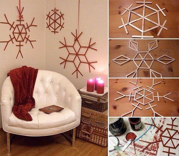 Creatieve winter/kerst versiering @Babett