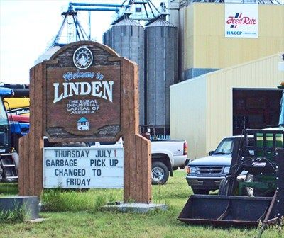Linden: Rural Industrial Capital of Alberta – Linden, Alberta - Welcome Signs on Waymarking.com
