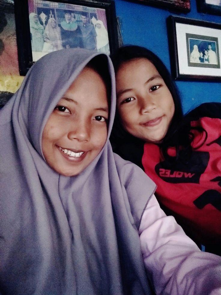 With adik tersayang😍😘