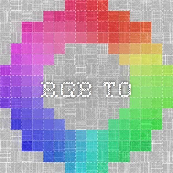 rgbto get color values from pantone to rgb hex and more
