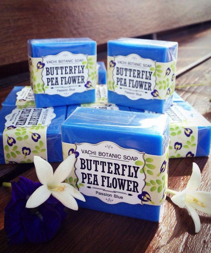 Vachi-Botanic Soap https://www.facebook.com/VachiDesign //  Chiang Mai, Thailand ----------------------- Jasmine Rice Milk Soap Net. 70g. ----------------------- Pineapple Soap Net. 70g. ----------------------- Butterfly Pea Soap Net. 70g.
