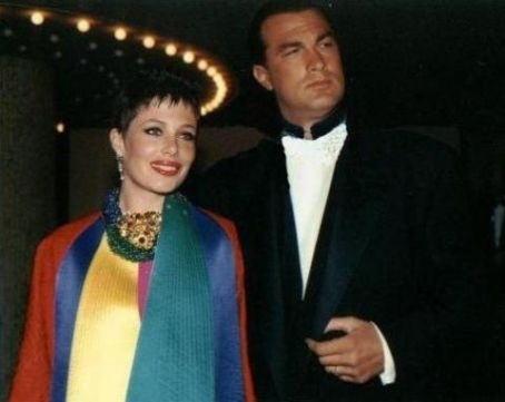 Kelly LeBrock and Steven Seagal