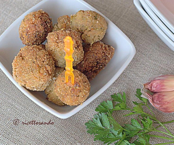 Polpette di riso e zucchine #ricetta di @luisellablog