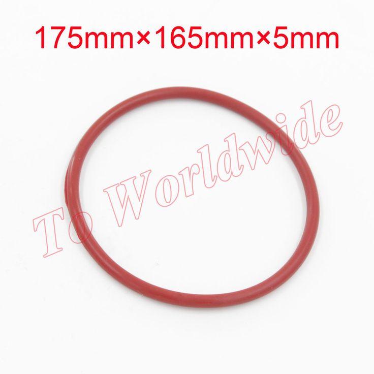 Экологически Чистые жаропрочных Кремния Уплотнительные Кольца VMQ 175 мм х 165 мм х 5 мм